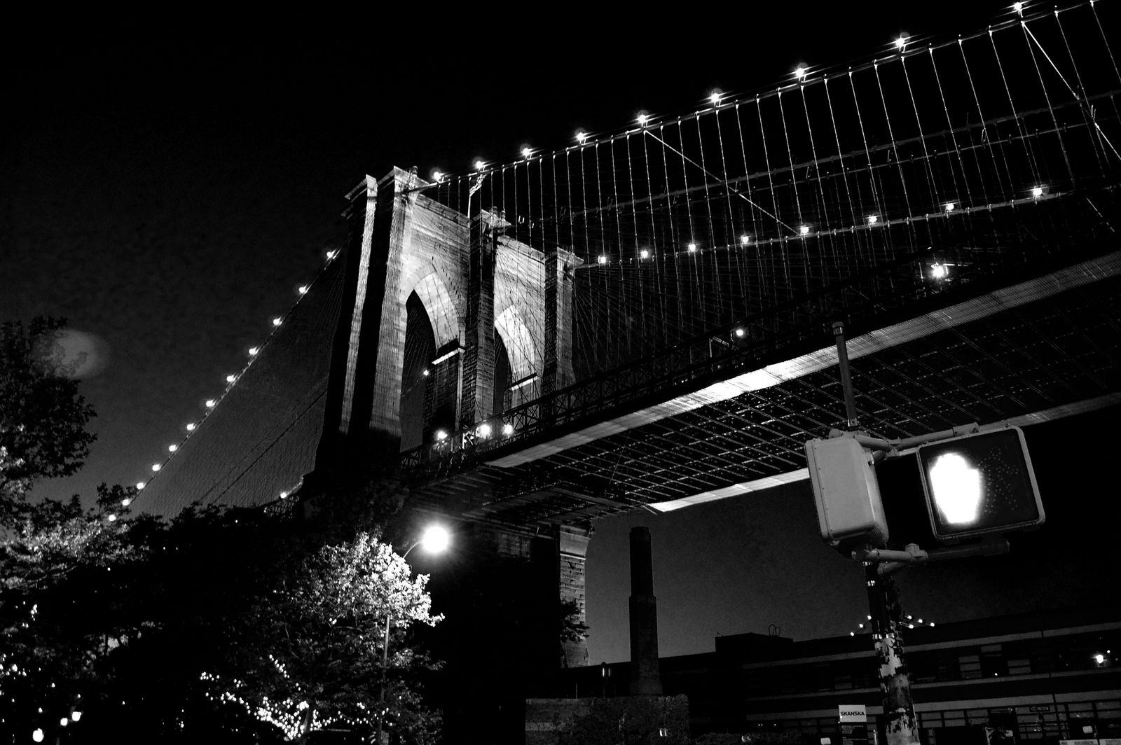 Brooklyn Bridge, Photograph by Daniel Ho