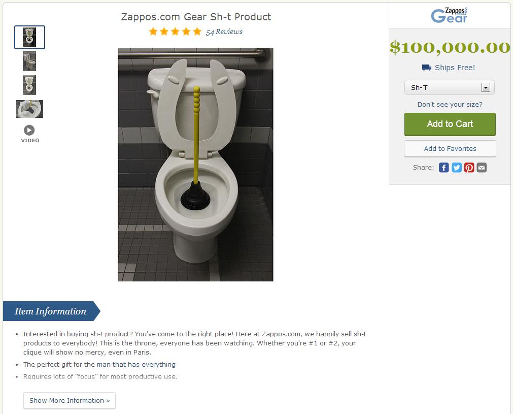 Zappos Sells Stuff
